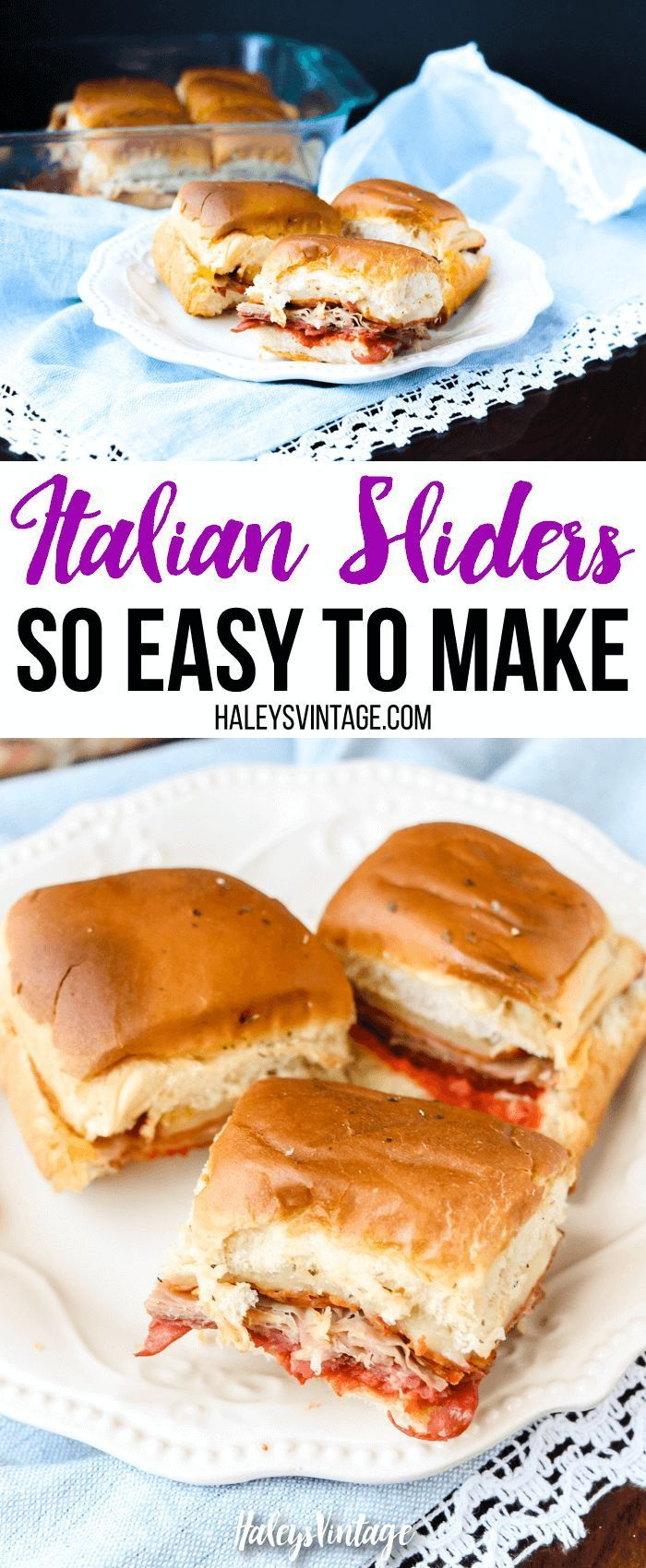 Italian sliders are delicious and so easy to make recipe italian sliders are delicious and so easy to make party food recipeshealthy forumfinder Image collections