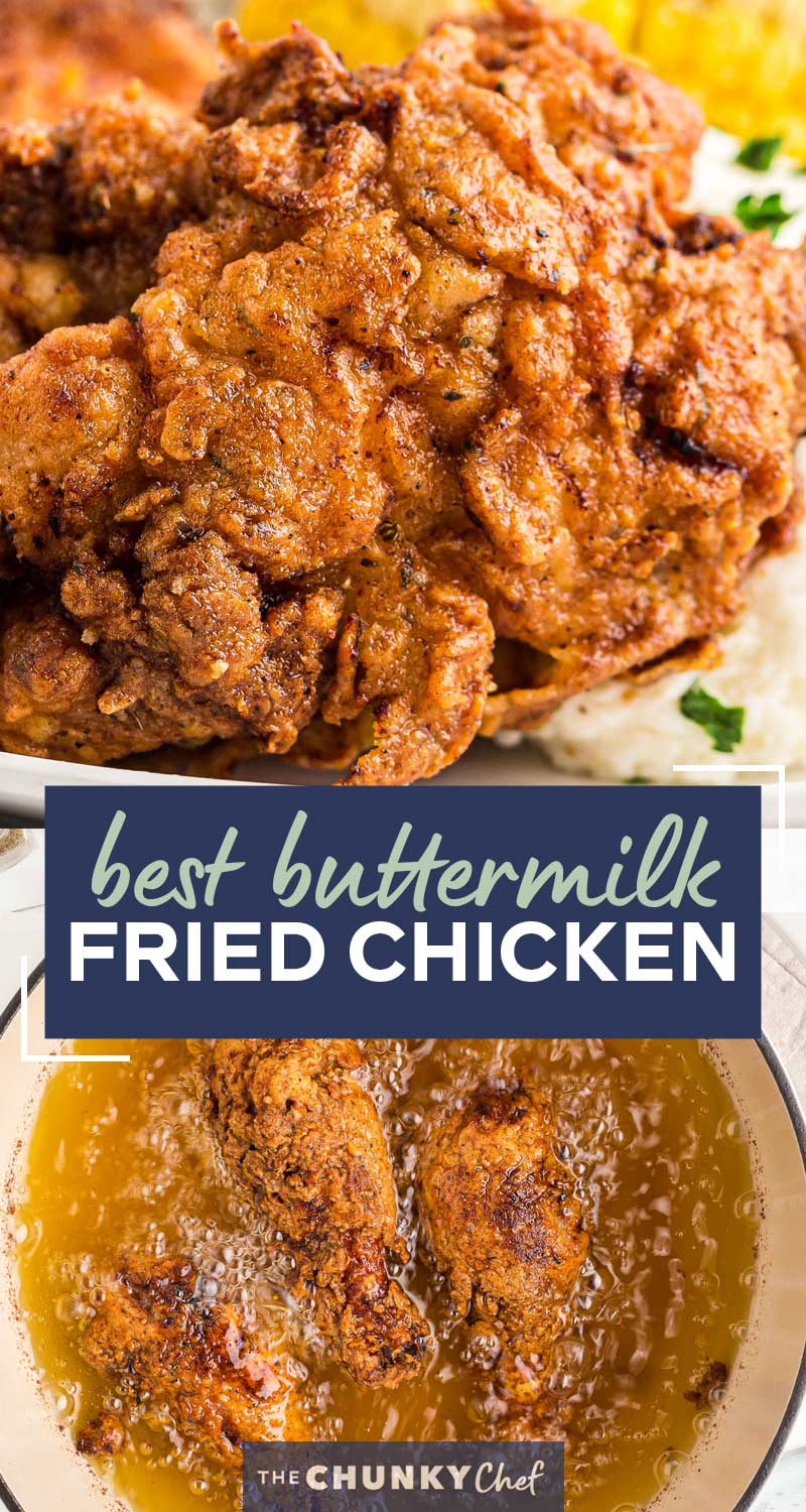 This Classic Buttermilk Fried Chicken Recipe Is Incredibly Flavorful And Juicy From A Hot Sauce But In 2020 Yummy Chicken Recipes Chicken Recipes Easy Chicken Recipes