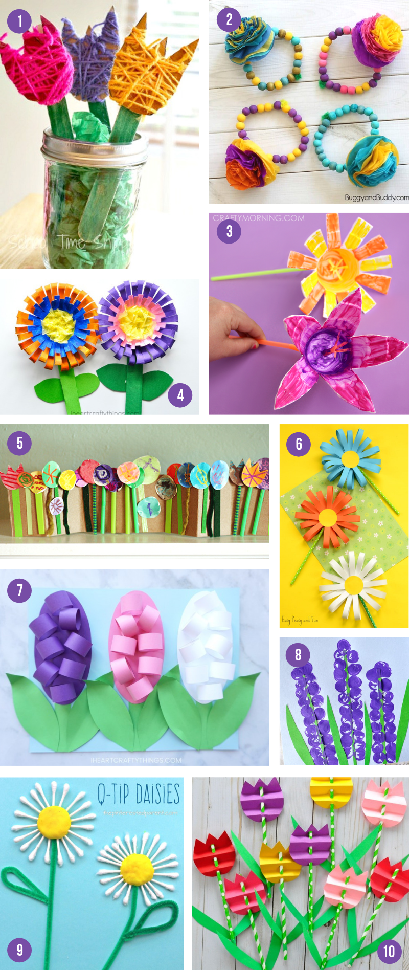 The Epic Collection Of Spring Crafts For Kids - All The Best Art Projects & Activities To Celebrate The Season -   19 simple crafts kindergarten ideas