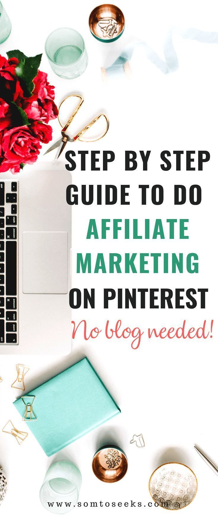 Step by step guide to do affiliate marketing on pinterest