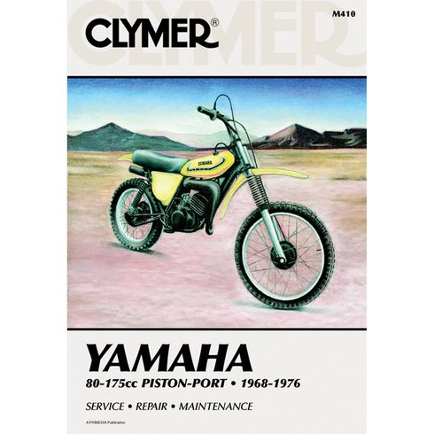 Clymer Yamaha 80-175cc Piston-Port (1968-1976)