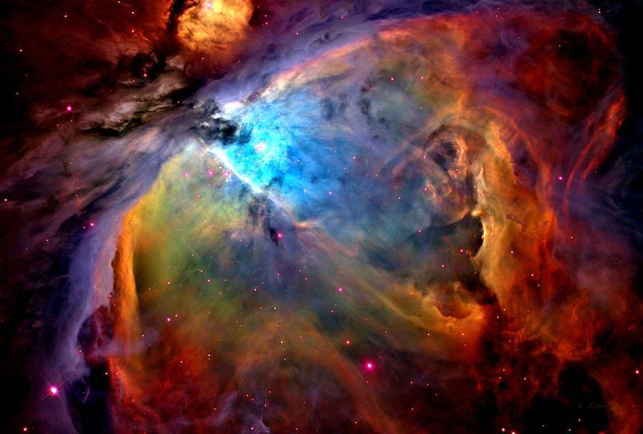 Hubble Telescope Orion's Belt   Orion Nebula Close Up 1-3 ...