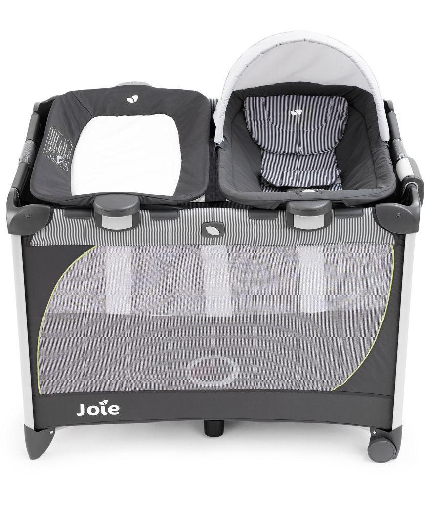 buy joie secureclick travel cot midway change and rock. Black Bedroom Furniture Sets. Home Design Ideas