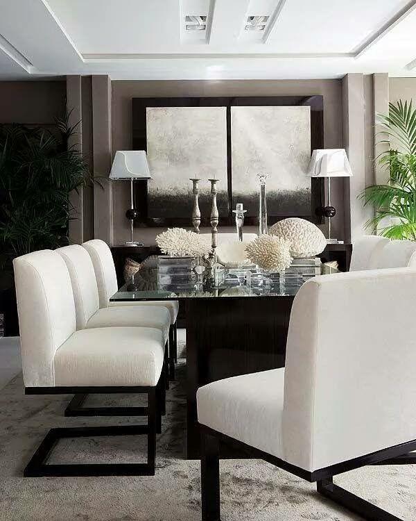 Plush Dining Room