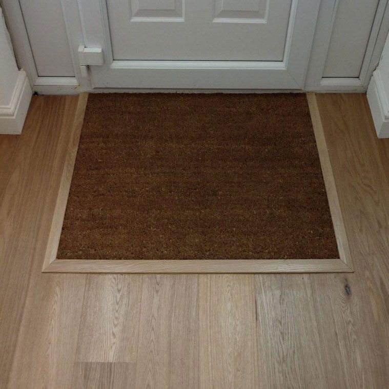 Front Foyer Mat : Doormat well frame design reviews
