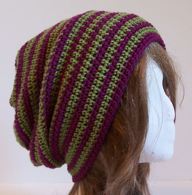 Ravelry: Bergy Slouchy pattern by Kristina Olson | Dreadlocks ...