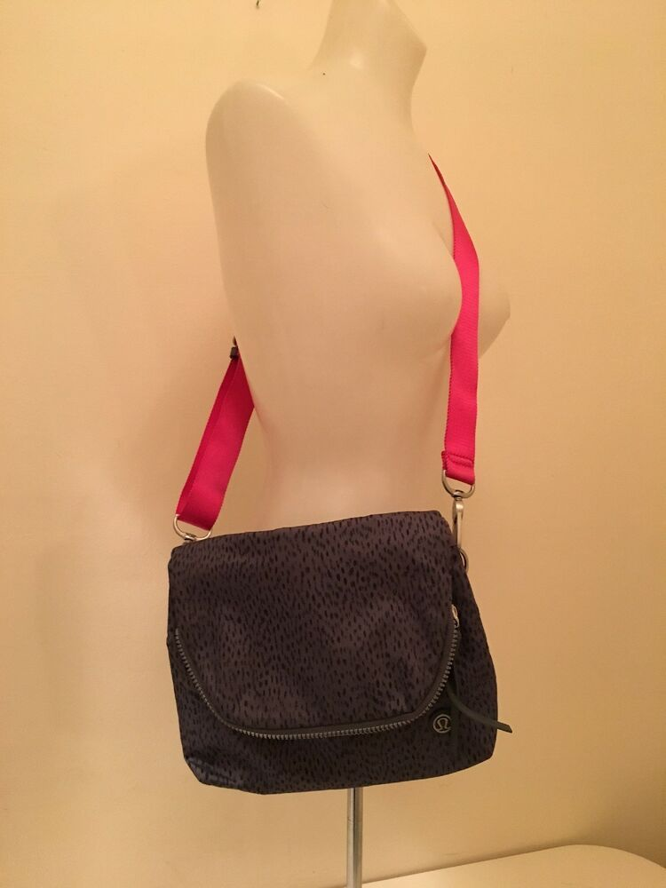 0f2d5963b3 LULULEMON PARTY OM BAG festival bag cross body purse