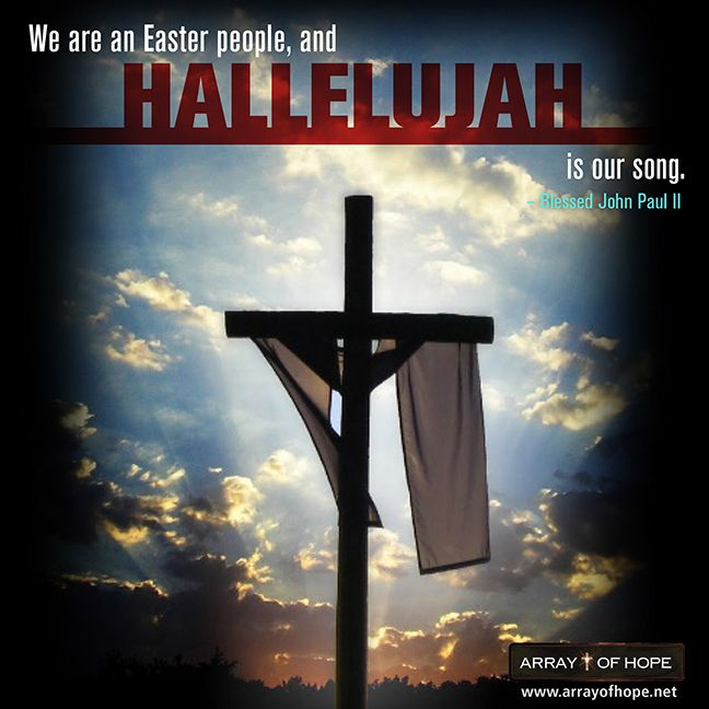 Happy Easter Truly He Is Risen We Are An Easter People And