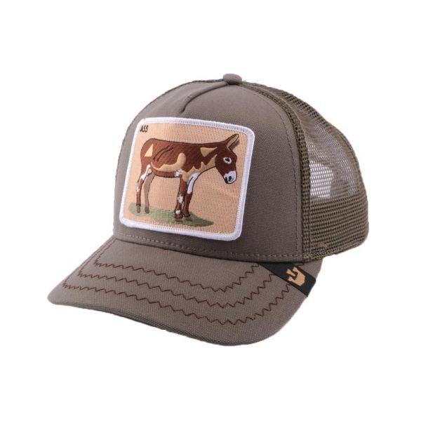 afe47805 Casquette Trucker Goorin Bros Donkey Ass Olive #mode #bonplan #goorinbros  sur @hatshowroom votre boutique Headwear !