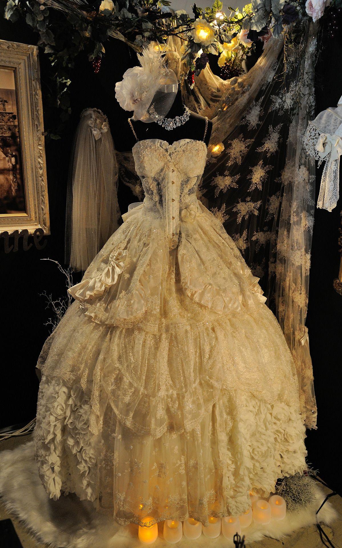 16 Alluring Steampunk Wedding Dresses That You\'ll Adore | Pinterest ...