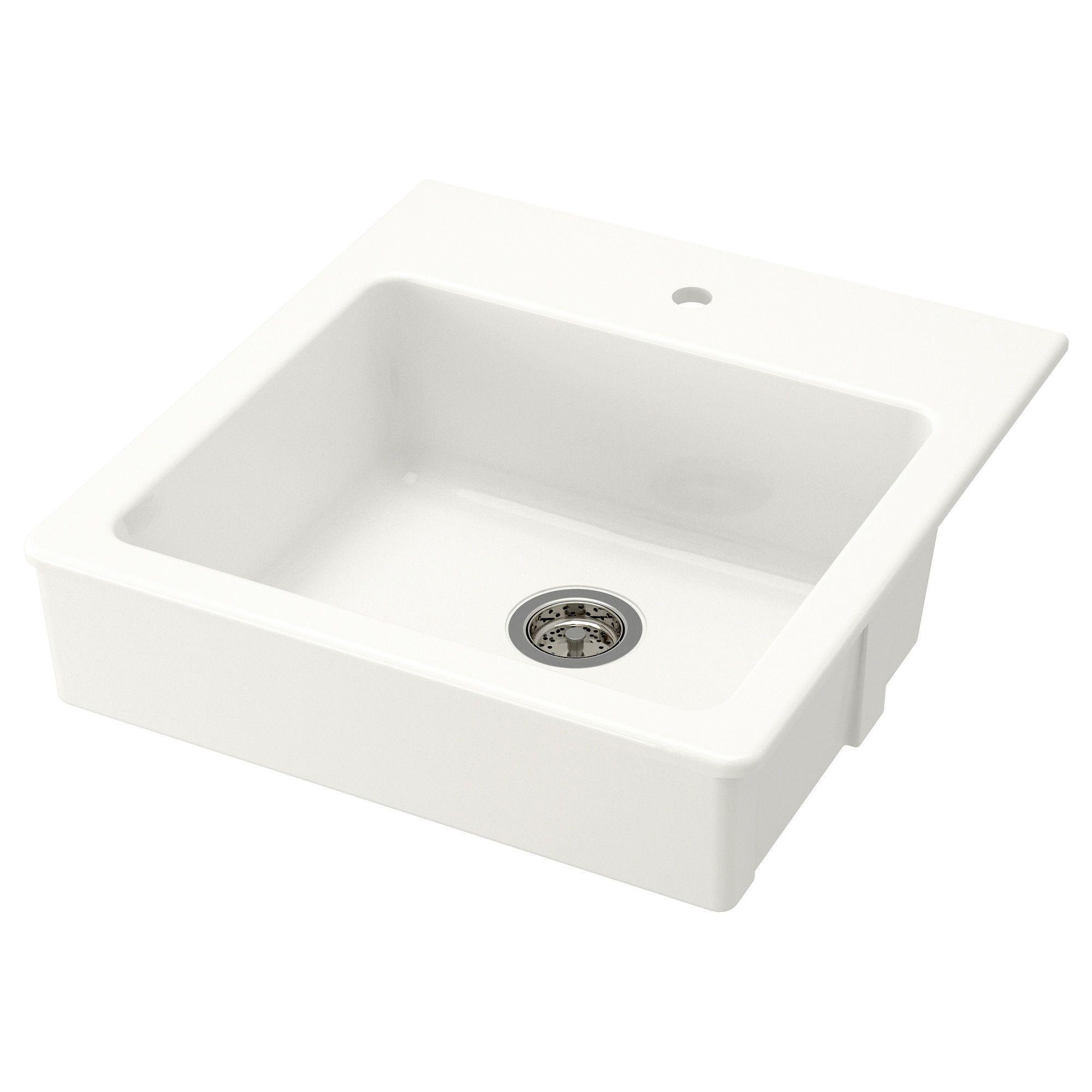Ikea domsjö single bowl top mount sink 25 year limited warranty