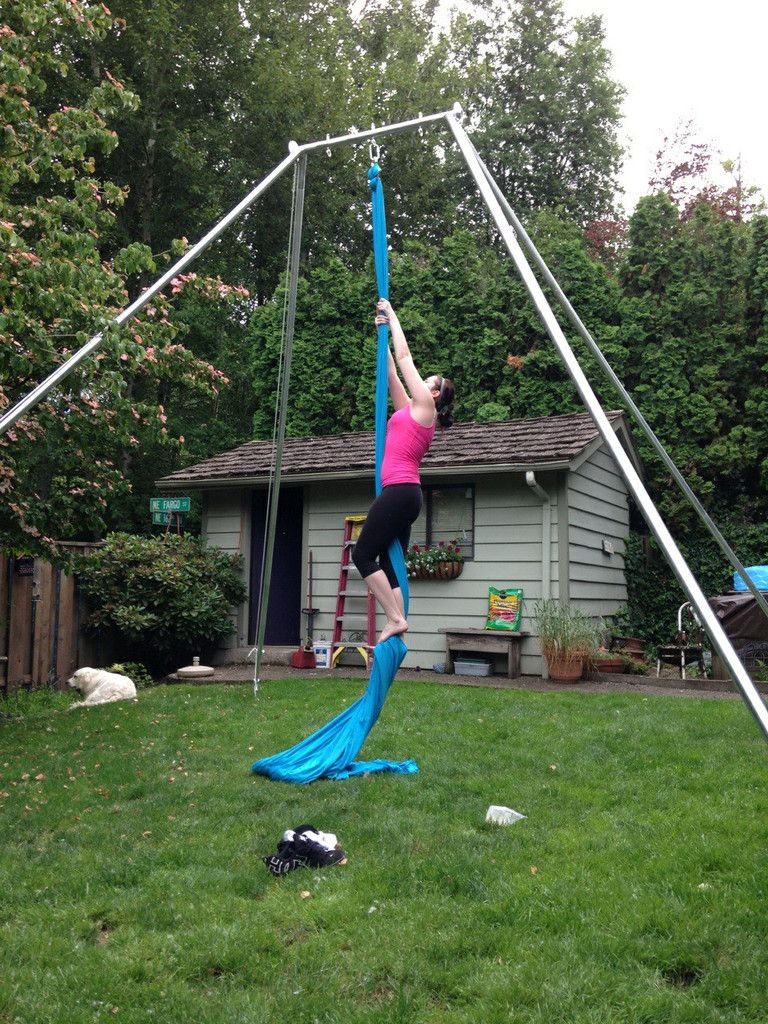 Backyard Free Standing Rigging Rigs Backyard And Aerial