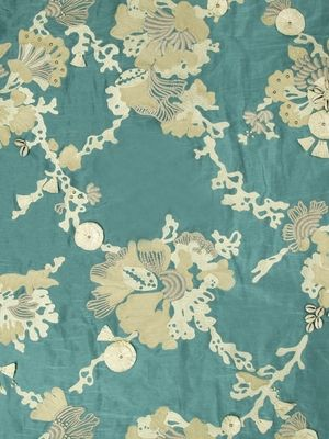 Beacon Hill Fabric Sea Queen In Wild Oasis Beacon Hill Cleaning Fabric Robert Allen Design
