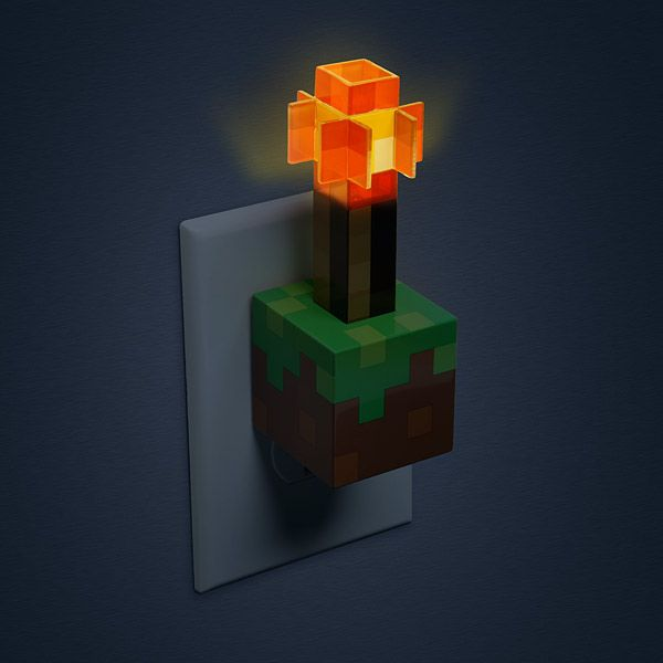 Minecraft Redstone Torch Usb Wall Charger Powers Your Mechanisms
