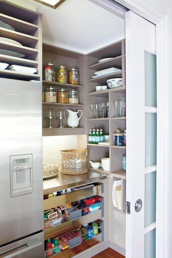 Dispensa cucina scelta disposizione arredamento accessori come ...