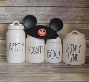 Rae Dunn Inspired Disney Decals #disneykitchen