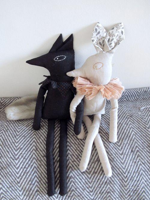 {Lucille}: Deer & Wolf