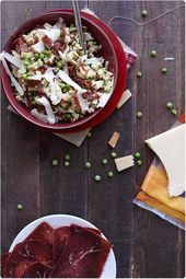 Photo of Beaufort crozet risotto and grison meat-Risotto of crozets w…