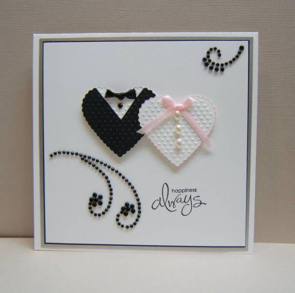 Cute Wedding Hearts Wedding Cards Handmade Cards Handmade Wedding Anniversary Cards