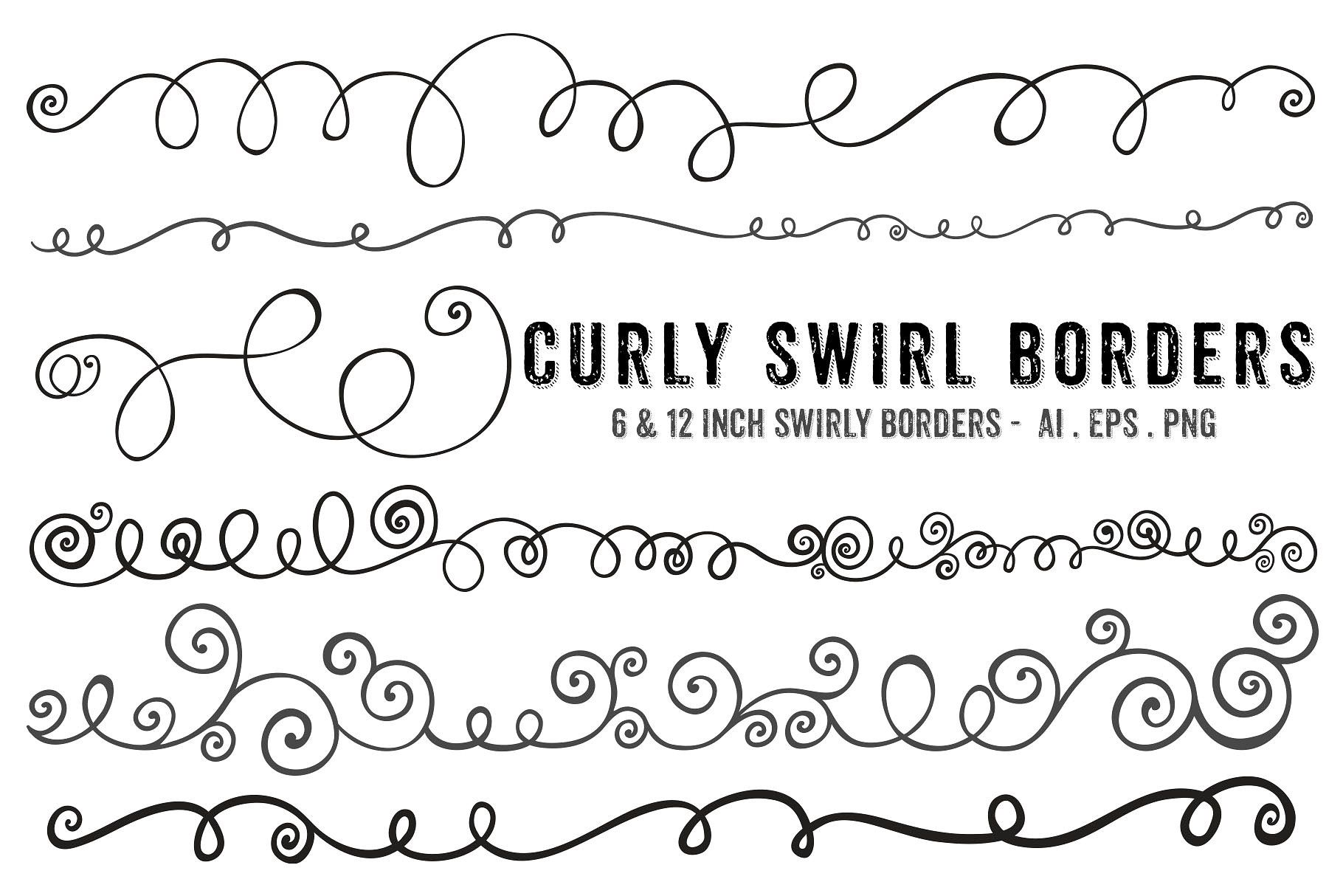 Swirl Border Clipart Cliparts Of Swirl Border Free Download Wmf Eps Emf Svg Png Gif Formats Clip Art Borders Clip Art Free Clip Art