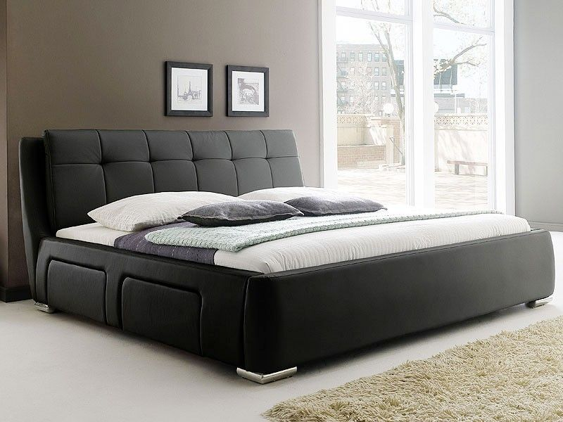 Tolle bett schwarz 160x200 Bett, Haus deko