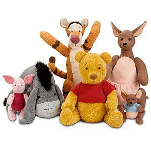 Classic Pooh Tigger Eeyore Piglet Kanga And Roo Such Cute