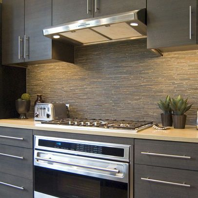 Modern Home Slate Backsplash Design Ideas Pictures Remodel And