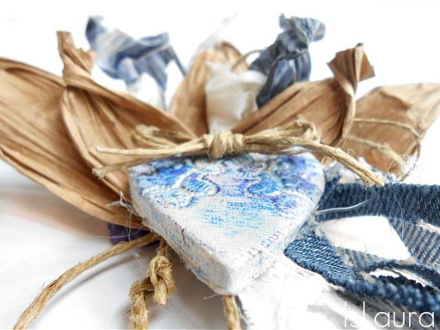 Cuore di das e riciclo maniglie dei sacchetti di carta for Sacchetti di carta fai da te