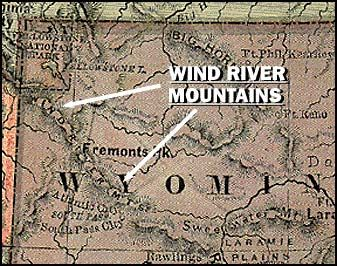 Wind River Range Wyoming Map.Map Of The Wind River Range Mountains I Have Hiked That Same Trail