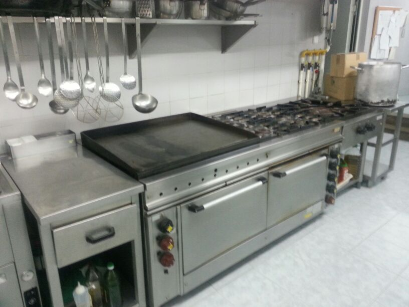 Bloque de cocina industrial cocicna mod c 802 ft cocina for Costo de cocina industrial