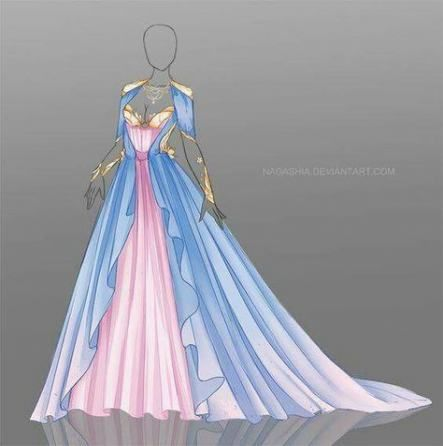 42+ ideas dress princess draw character design -   7 dress Princess draw ideas