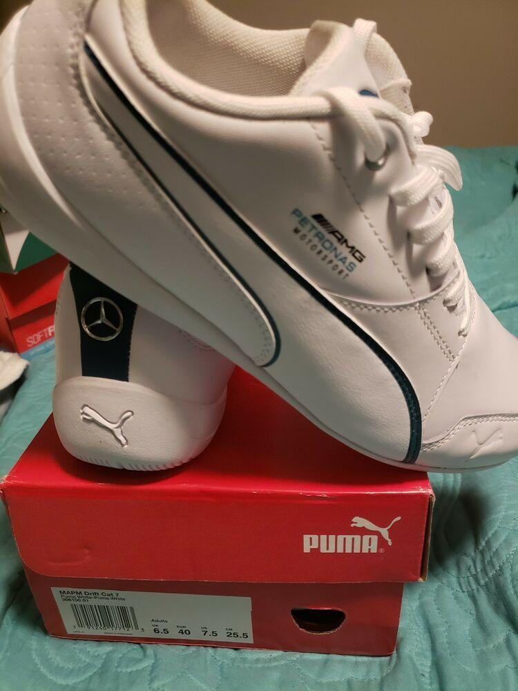 Puma White MAPM Drift Cat 7 Benz men's