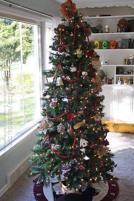 Charming Michaels Christmas Craft Ideas Part - 12: Michaels Christmas Dream Tree Challenge @amandaformaro Crafts By Amanda