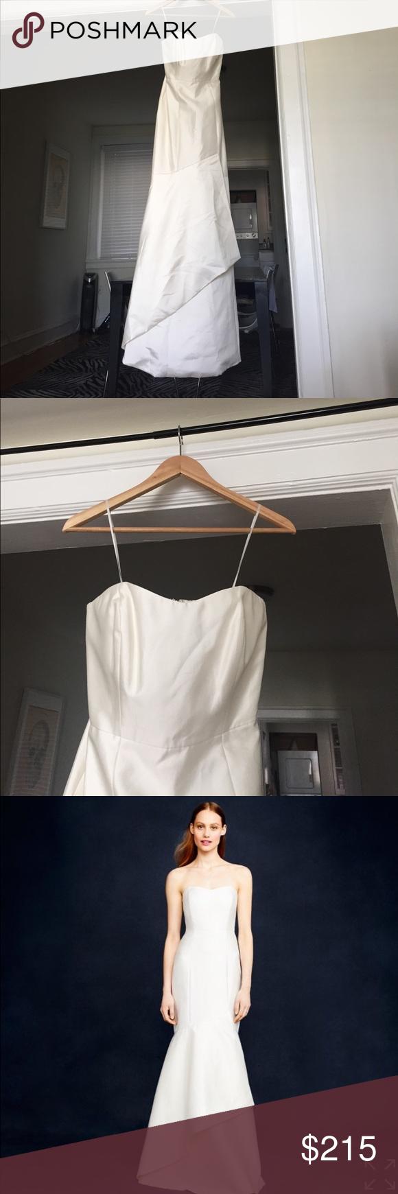 J. Crew Eva Wedding Gown NWT   My Posh Picks   Pinterest   Gowns ...