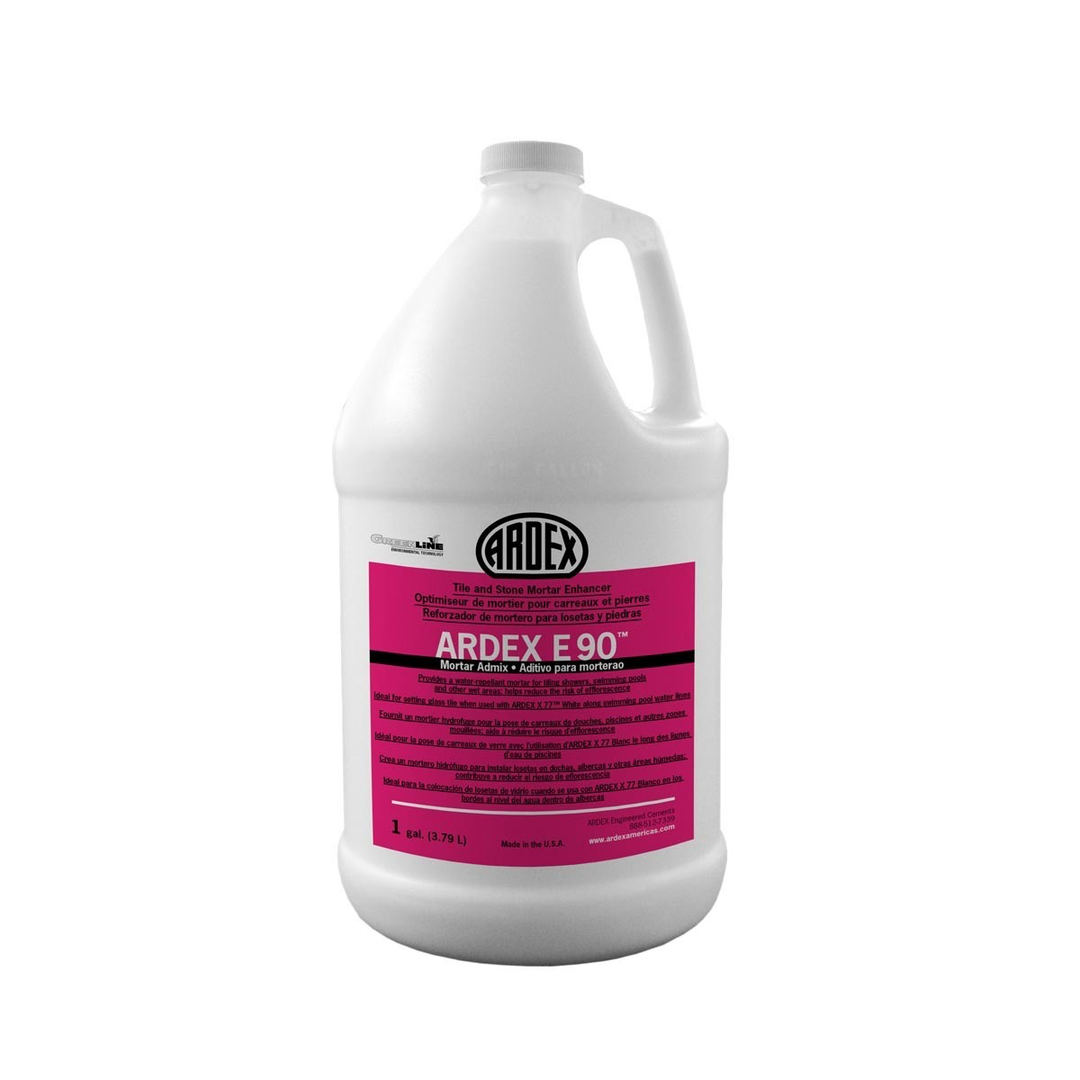 Ardex E 90 Mortar Admix Gallon Floor Heating Systems Heating Systems Mortar