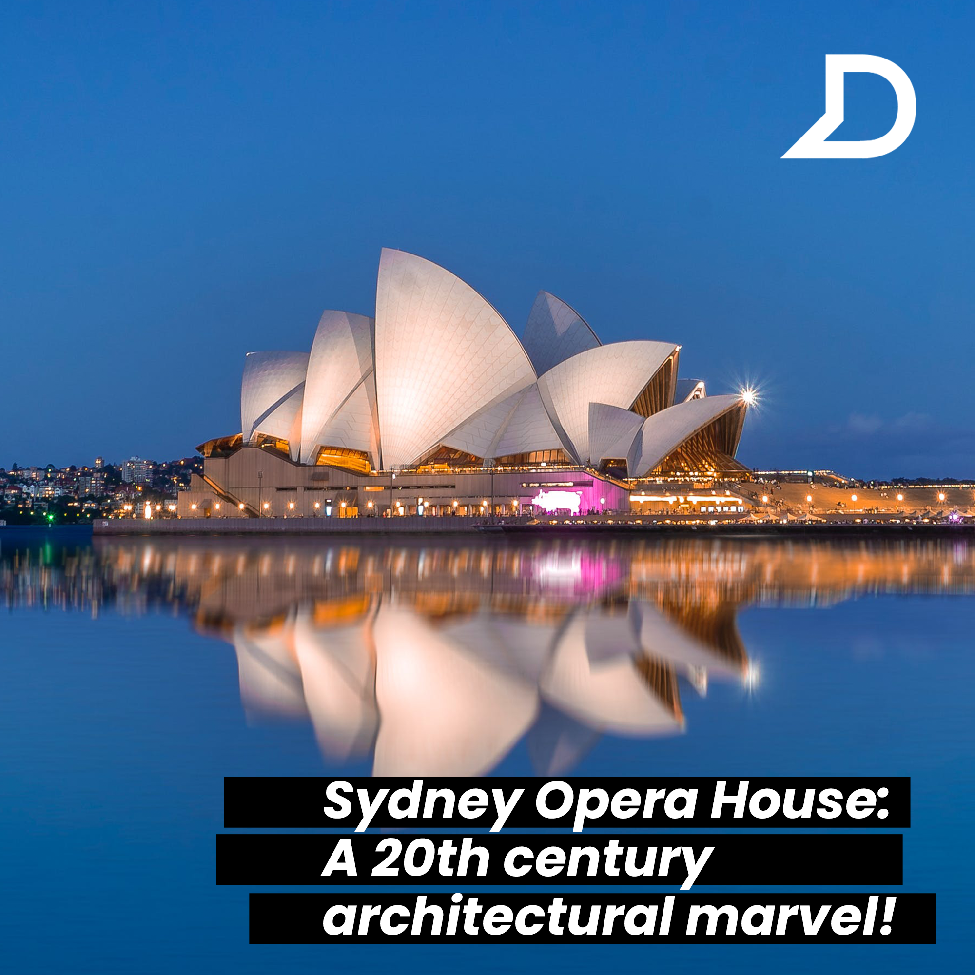 Sydney Opera House A 20th Century Architectural Marvel Sydney Opera House Famous Structures Nature Inspiration