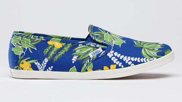 Vans hawaiian print