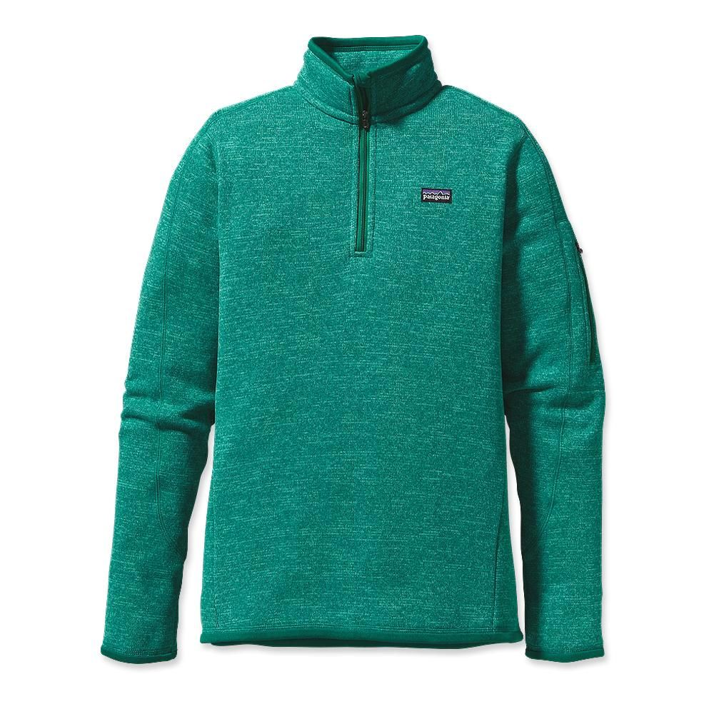 Kinda diggin this different color. Or the purple one. Patagonia Women's Better Sweater 1/4-Zip Fleece Pullover