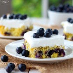 Blueberry Pineapple Cake