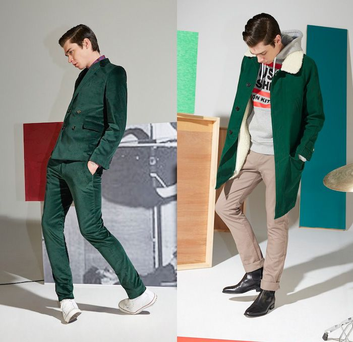 Maison Kitsuné 2014-2015 Fall Winter Mens