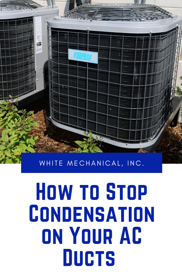 How to Stop Condensation on Your AC Ducts Duct