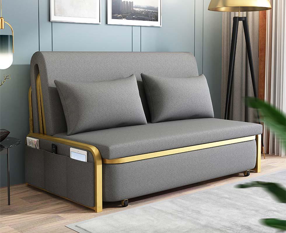 Full King Sleeper Sofa Grey Upholstered Convertible Sofa Leath Aire Convertible Sofa Sleeper Sofa Gray Sofa