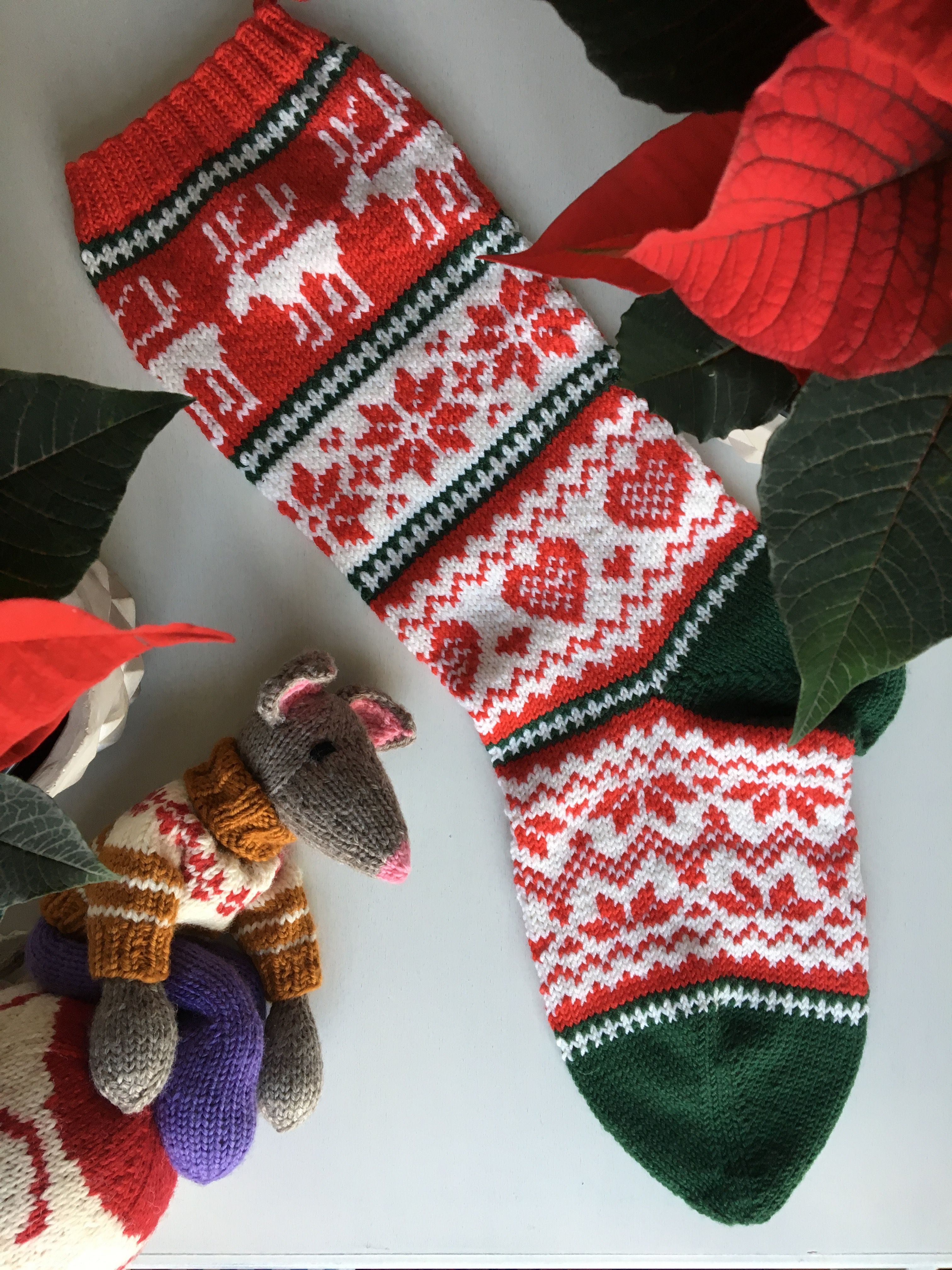 Arne & Carlos Christmas Stocking Pattern | Project - Knitting ...