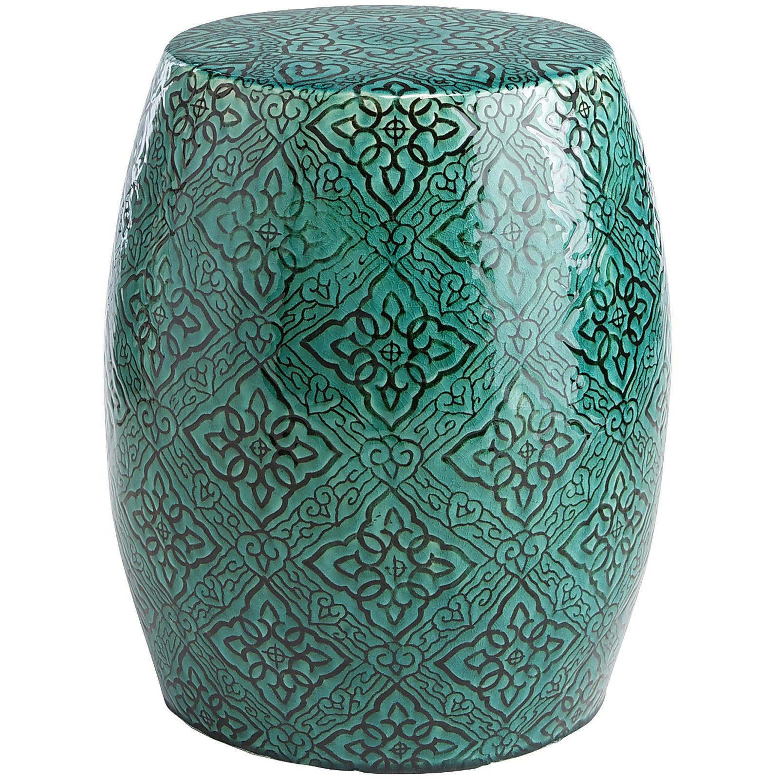Groovy Mediterranean Tile Garden Stool At Pier 1 Imports Garden Ocoug Best Dining Table And Chair Ideas Images Ocougorg
