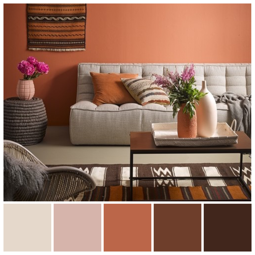 Love These Earthy Hues Inspired By Resene Sunbaked A Rich