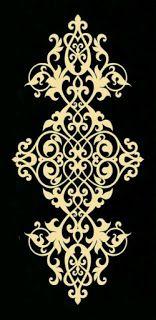 رشمات للمفارش Stencil Designs Stencil Patterns Stencil Pattern