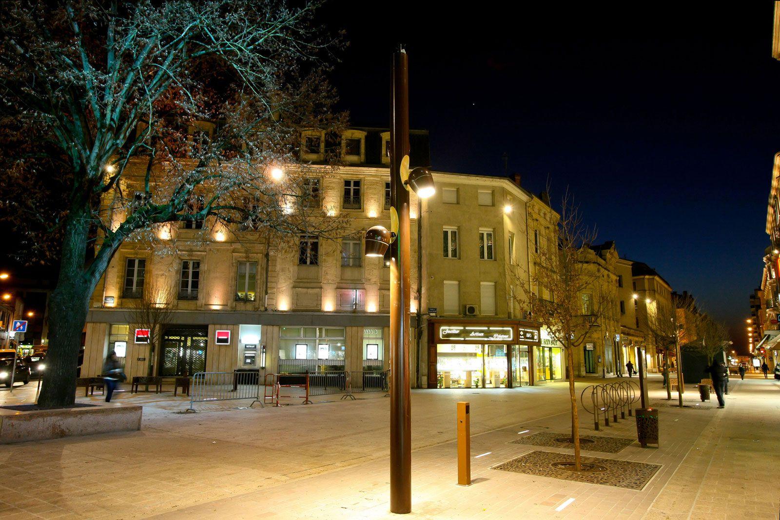luminaire exterieur ville