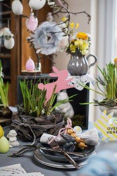 Schön Dekoriert Ins Osterfest: Ostern Deko: Grau U0026 Pastell