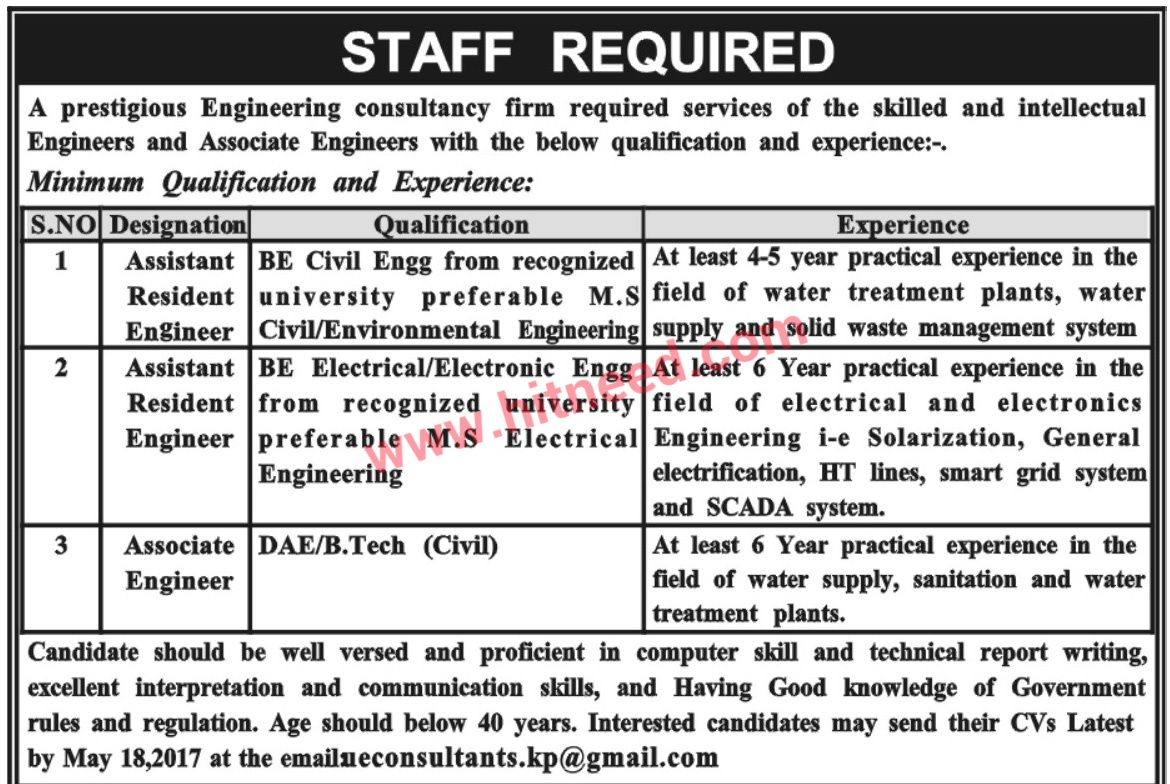 Consulting firm engineering jobs 2017 expiring soon 18