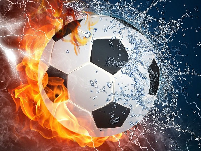 The Ball On Fire Soccer Football Sports Qhd Wallpaper 2: Soccer Ball HD Wallpaper On MobDecor